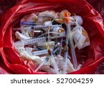 infectious waste must be... | Shutterstock . vector #527004259