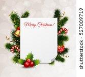 merry christmas festive... | Shutterstock .eps vector #527009719