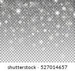 falling snow. vector...   Shutterstock .eps vector #527014657