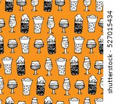 vector seamless pattern. sketch ... | Shutterstock .eps vector #527015434