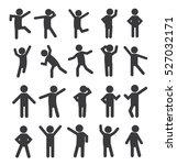 set of people figure pictogram... | Shutterstock .eps vector #527032171