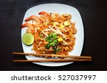 pad thai | Shutterstock . vector #527037997