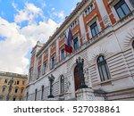 palazzo montecitorio in rome... | Shutterstock . vector #527038861