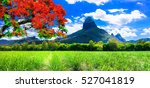 beautiful mountain landscapes... | Shutterstock . vector #527041819
