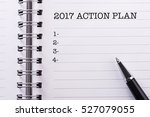 New Year Concept Action Plan