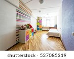 colorful designed unisex kids... | Shutterstock . vector #527085319
