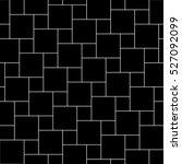 vector black tiles seamless... | Shutterstock .eps vector #527092099