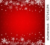 christmas background  vector... | Shutterstock .eps vector #527141194