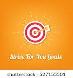 point aim  target. sniper aim... | Shutterstock .eps vector #527155501