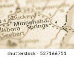 minnehaha springs. west... | Shutterstock . vector #527166751