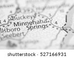 minnehaha springs. west... | Shutterstock . vector #527166931