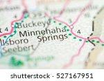 minnehaha springs. west... | Shutterstock . vector #527167951