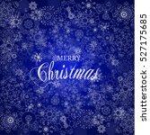 falling snow element for...   Shutterstock .eps vector #527175685