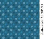 dark seamless pattern of many...   Shutterstock .eps vector #527186701