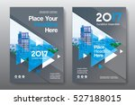 blue color scheme with city... | Shutterstock .eps vector #527188015
