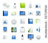 office end business icons | Shutterstock .eps vector #52719016