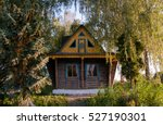 Wooden House In Forest  House...