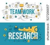 set of modern design concepts... | Shutterstock .eps vector #527200057