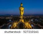 Big Golden Buddha Statue In...