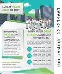 template for advertising... | Shutterstock .eps vector #527214661