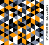 abstract triangle seamless... | Shutterstock .eps vector #527223691