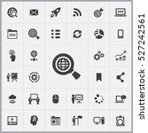internet search icon. digital
