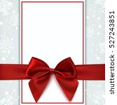 Blank Greeting Card With Red...