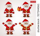 Santa Claus. Cute Cartoon...