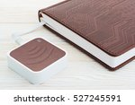 e book and wi fi router. for...