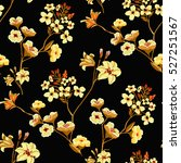 seamless floral pattern in... | Shutterstock .eps vector #527251567