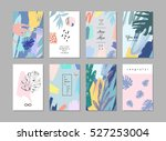 set of creative universal... | Shutterstock .eps vector #527253004