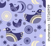 seamless pattern with... | Shutterstock .eps vector #527260939