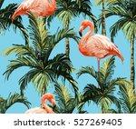 beautiful seamless vector... | Shutterstock .eps vector #527269405