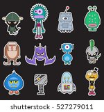 little monsters pack vector ...