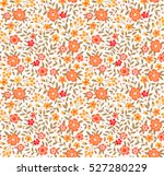 cute floral pattern in the... | Shutterstock .eps vector #527280229