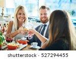 business people meeting in... | Shutterstock . vector #527294455