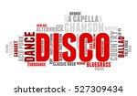 disco. word cloud  type font ...   Shutterstock .eps vector #527309434