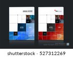 business vector set. brochure... | Shutterstock .eps vector #527312269