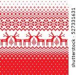 new year's christmas pattern... | Shutterstock .eps vector #527331631