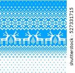 new year's christmas pattern... | Shutterstock .eps vector #527331715