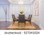 modern dining room in luxury... | Shutterstock . vector #527341024