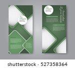 vector flyer and leaflet design....   Shutterstock .eps vector #527358364