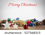 Small photo of Christmas ornaments, Marry Christmas
