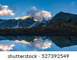yading national reserve in... | Shutterstock . vector #527392549