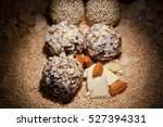 sweets balls candies with... | Shutterstock . vector #527394331