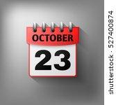 calendar icon vector red....