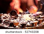 incense in buddhist temple | Shutterstock . vector #52743208