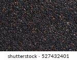 black sesame seed background...   Shutterstock . vector #527432401