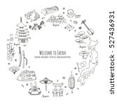 hand drawn doodle welcome to... | Shutterstock .eps vector #527436931