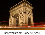 paris  france  october 4  2016  ... | Shutterstock . vector #527437261